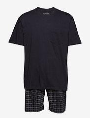 Schiesser - Pyjama Short - pyjamas - anthracite - 0