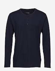Schiesser - Shirt 1/1 - basic t-shirts - dark blue - 0