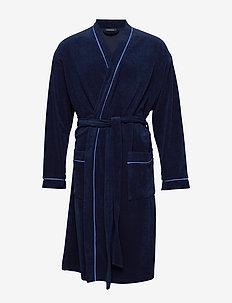 Bath Robe - robes - navy