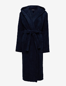 Bath Robe - bedrok - navy