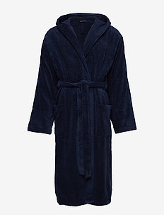 Bath Robe - morgonrockar - navy