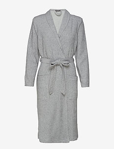 Bath Robe - pegnoirs - grey melange