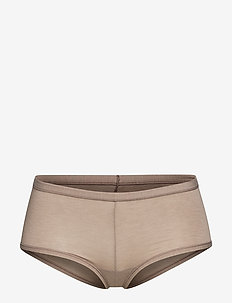 Short - culotte taille basse - brown