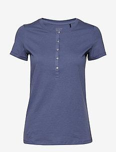 Shirt 1/2 - hauts - dark blue