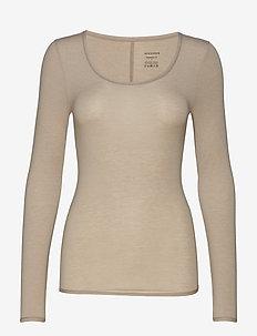 Shirt 1/1 - hauts à manches longues - brown