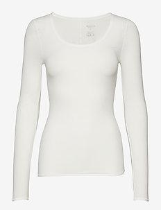 Shirt 1/1 - hauts à manches longues - offwhite