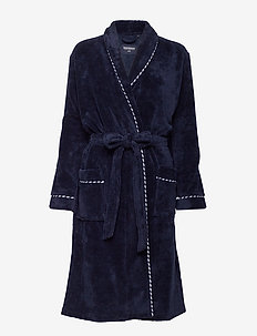 Bath Robe - morgenkåper - nightblue