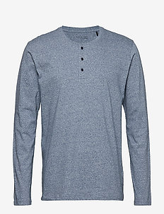 Shirt 1/1 - pyjamas - darkblue mel.