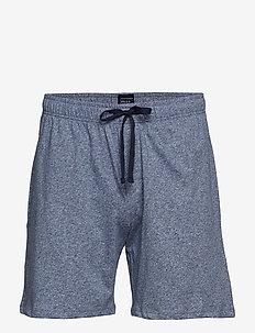 Shorts - bottoms - darkblue mel.