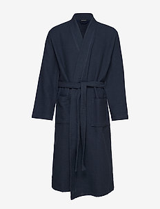 Bath Robe - morgonrockar - dark blue