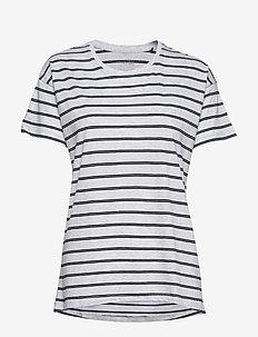 Shirt 1/2 - hauts - grey melange