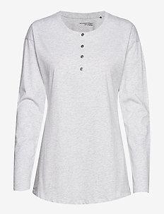 Shirt 1/1 - hauts - grey melange