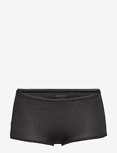 Shorts - culotte taille basse - black