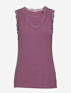 Singlet - hauts sans manches - red berry