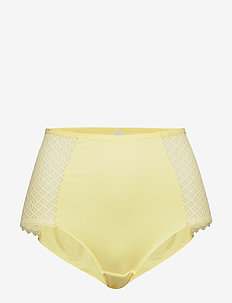Highwaist Brief - midi & maxi - yellow