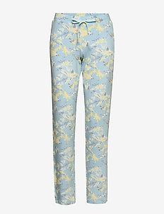 Long Pants - bas - aqua