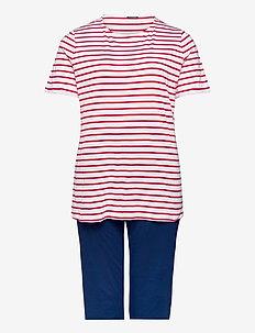 Pyjamas 3/4 - pyjamas - red