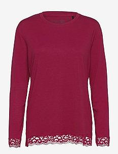 Shirt 1/1 - tops - cranberry