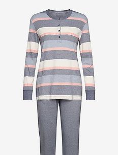 Pyjama Long - sett - blue