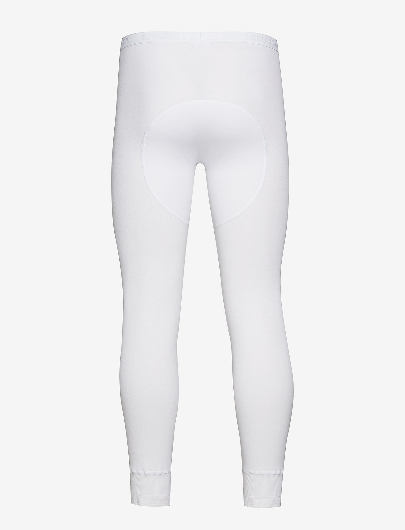 Schiesser - Long Pants - base layer bottoms - white - 1