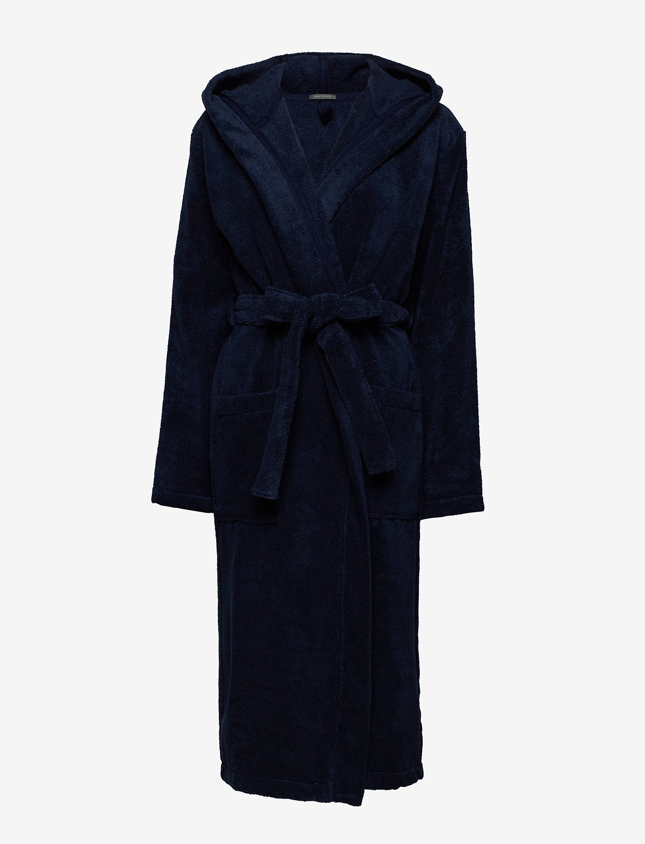 Schiesser - Bath Robe - pegnoirs - navy - 0