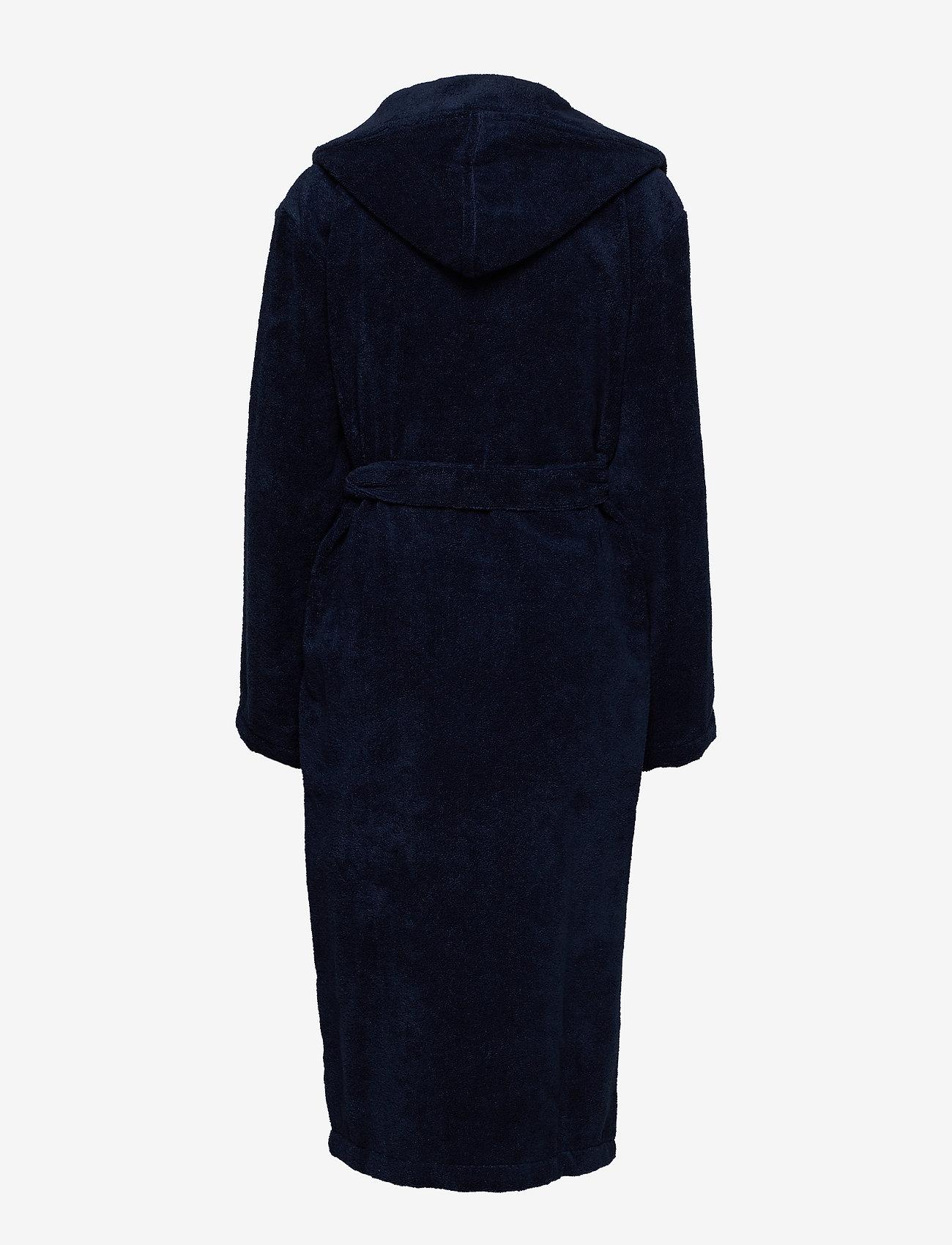 Schiesser - Bath Robe - pegnoirs - navy - 1