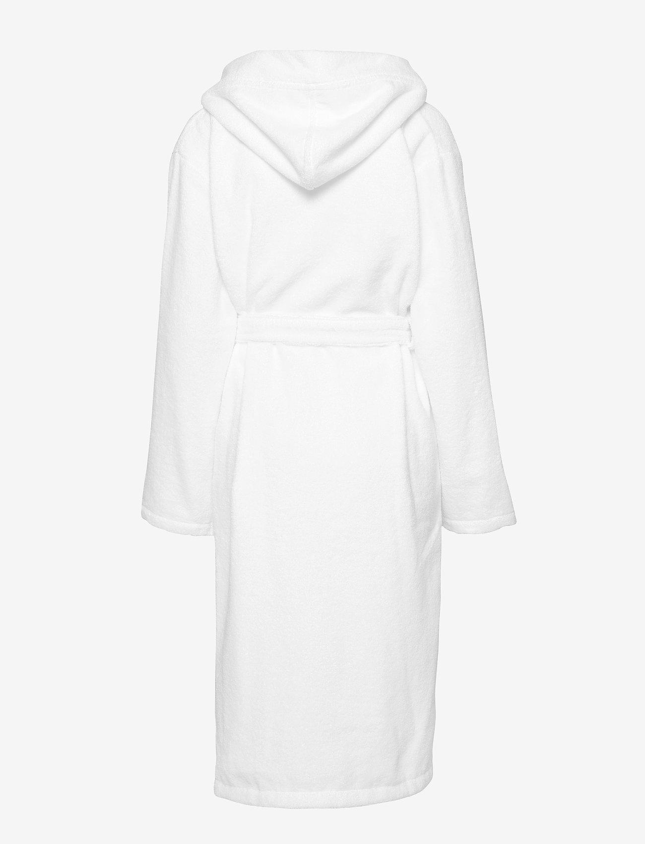 Schiesser - Bath Robe - pegnoirs - white - 1