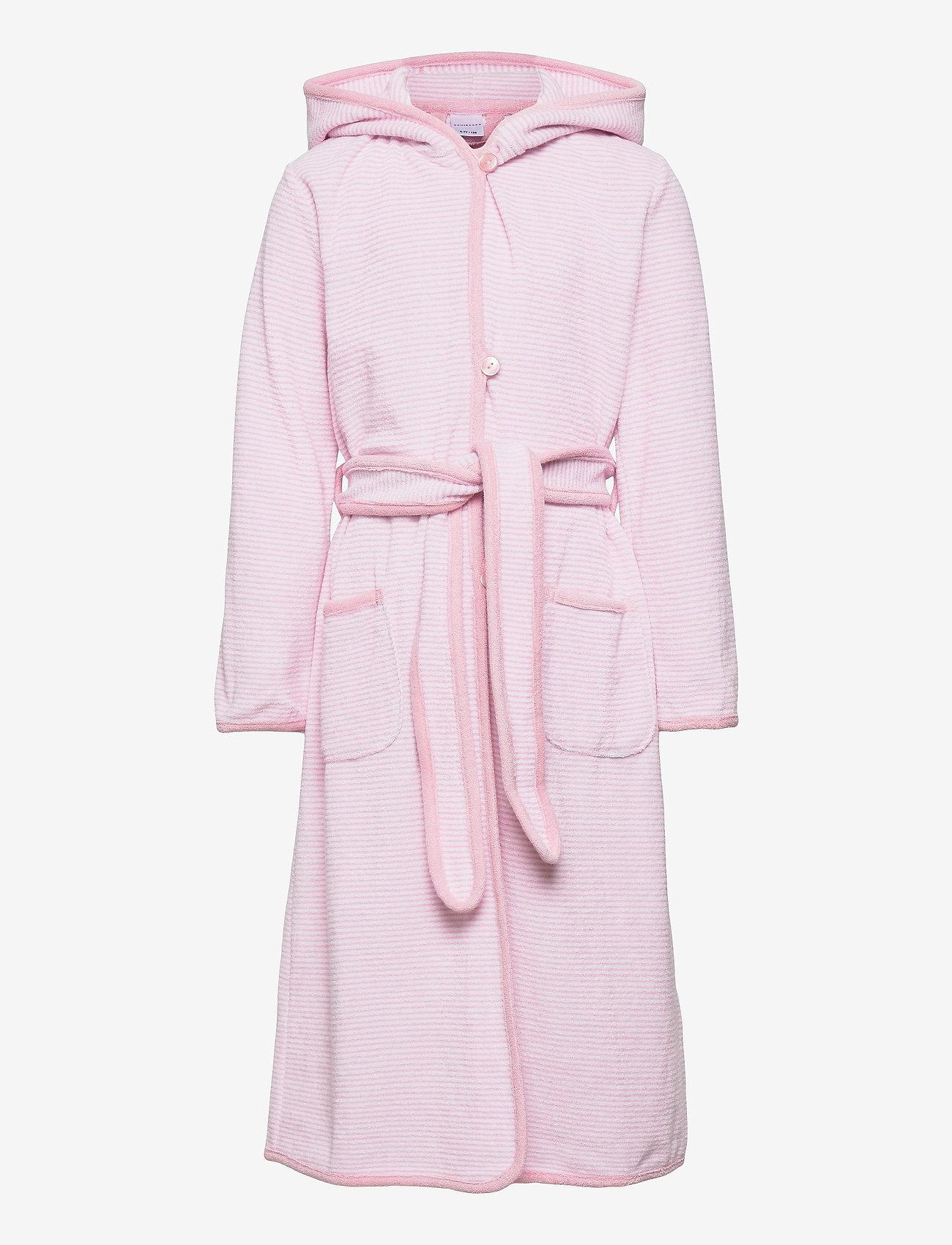 Schiesser - Bath Robe - bademäntel - rose - 0