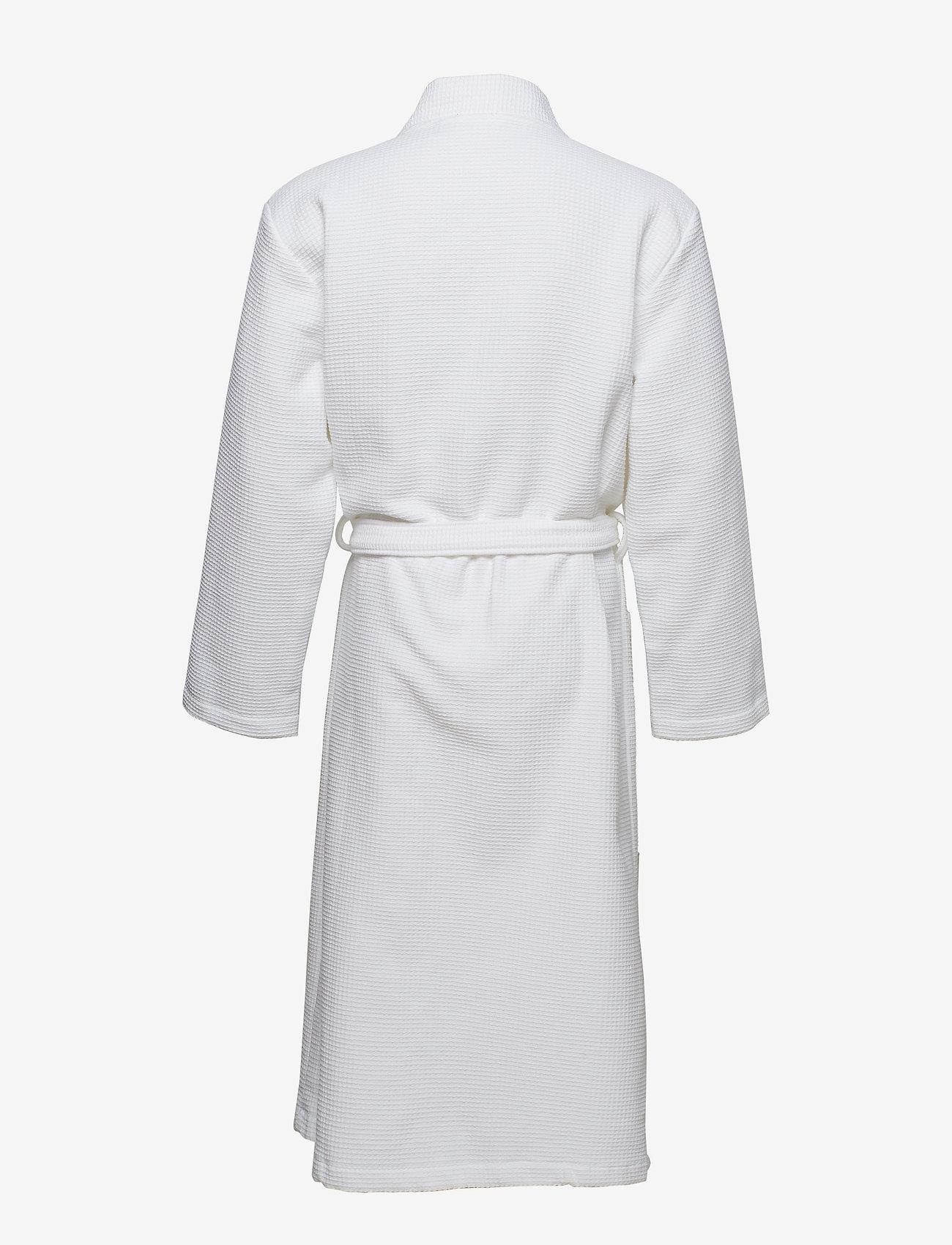Schiesser - Bath Robe - badjassen - white - 1