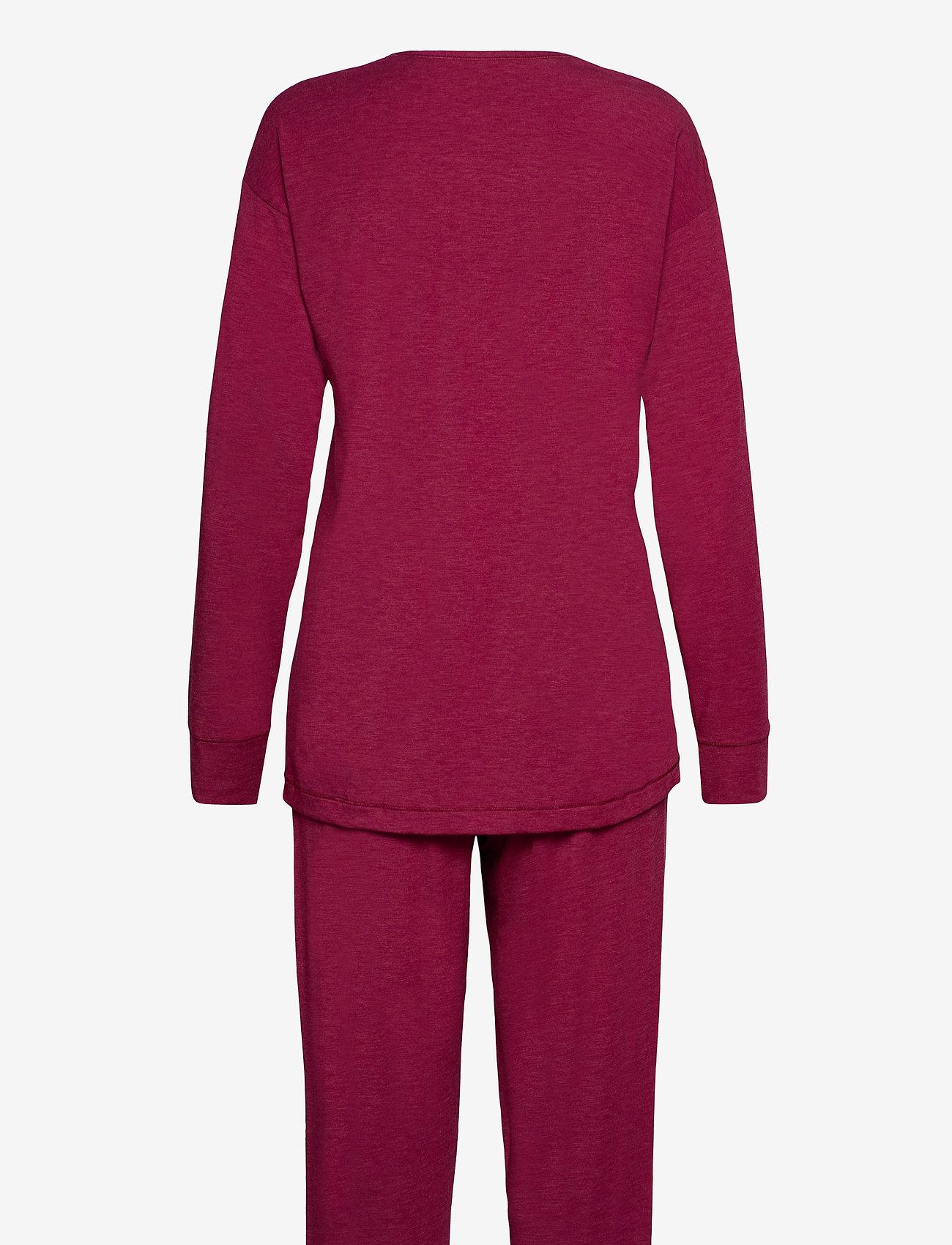 Schiesser - Pyjama Long - pyjama''s - cranberry - 1