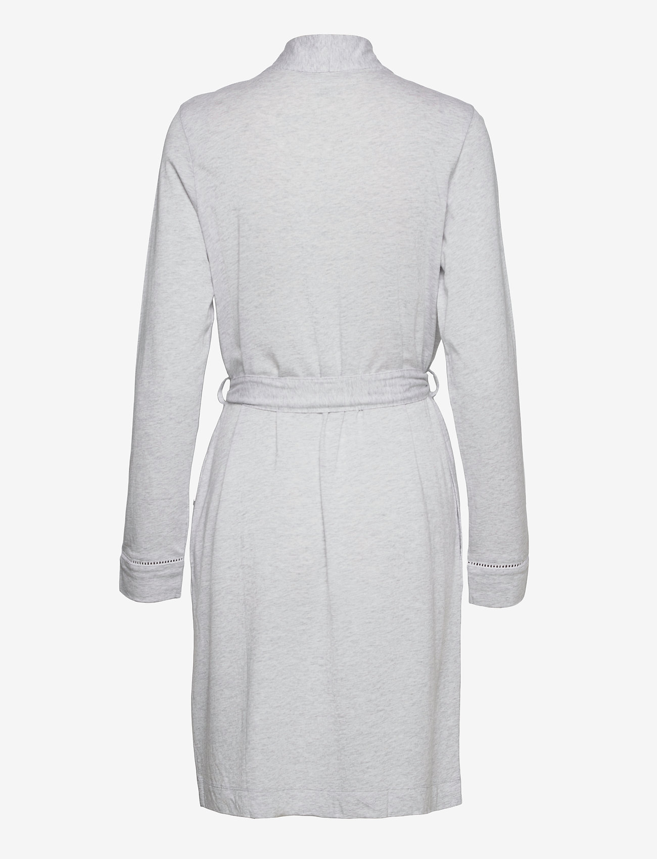 Schiesser - dressing gown - pegnoirs - grey melange - 1