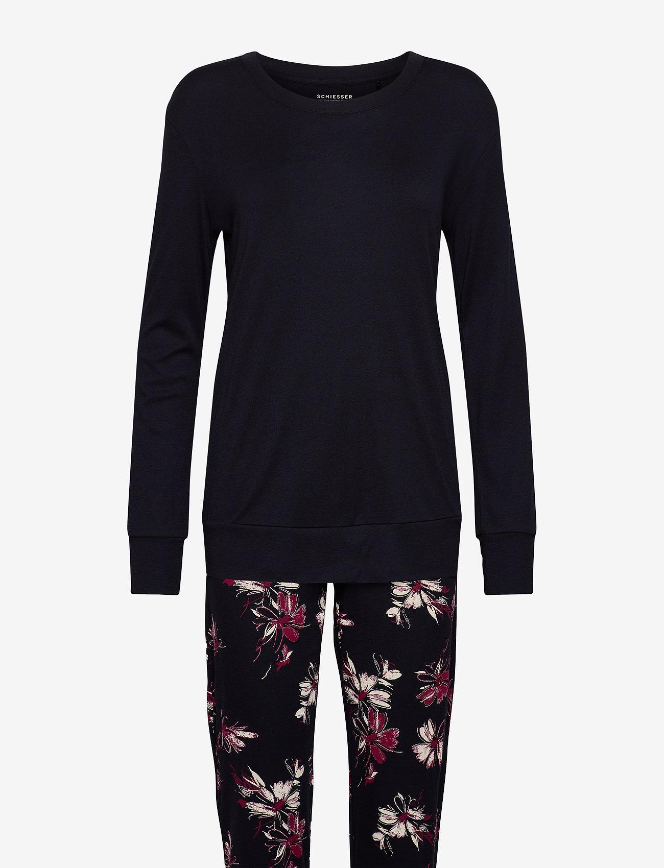 Schiesser - Pyjama Long - pyjama''s - anthracite - 0