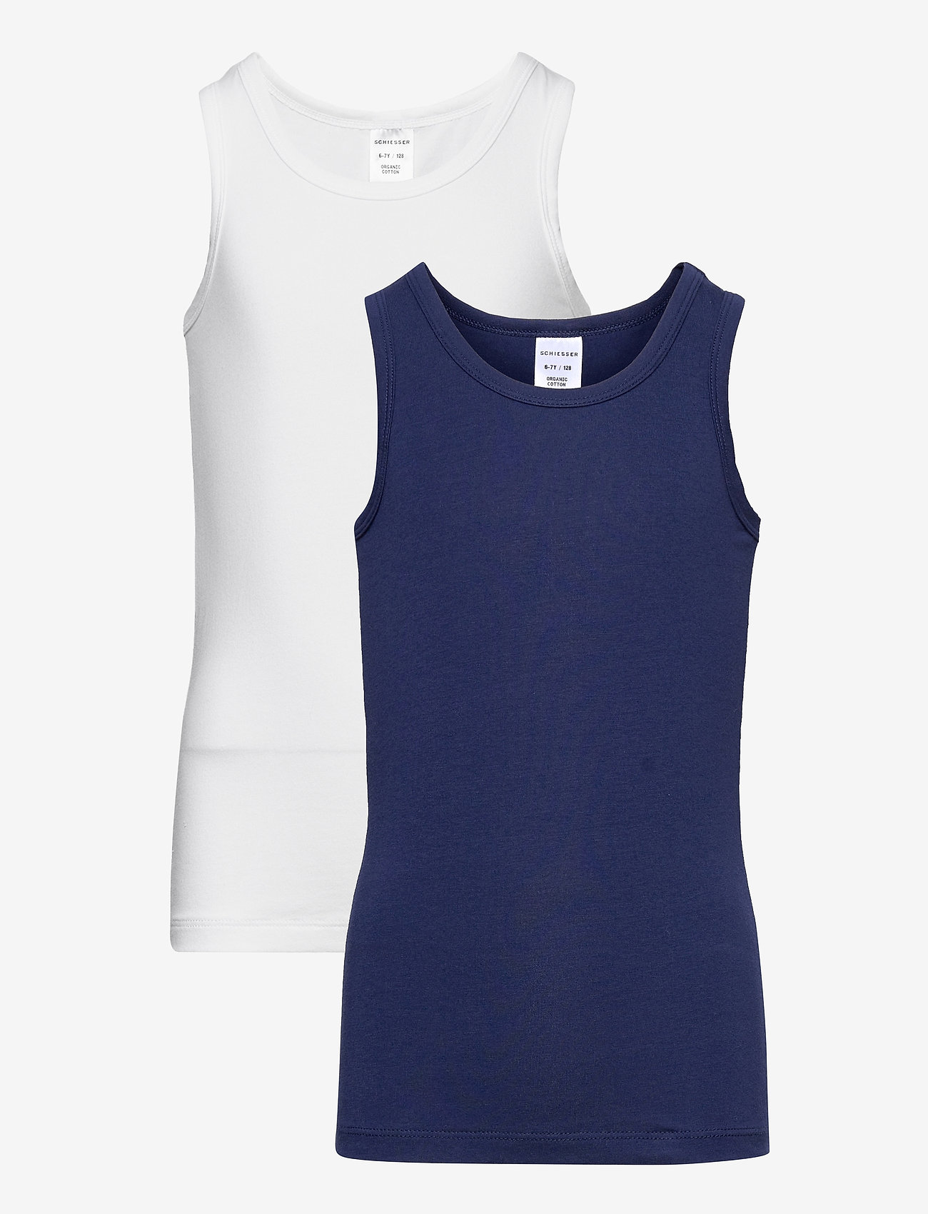 Schiesser - Shirt 0/0 - Ärmellose - assorted 1 - 0