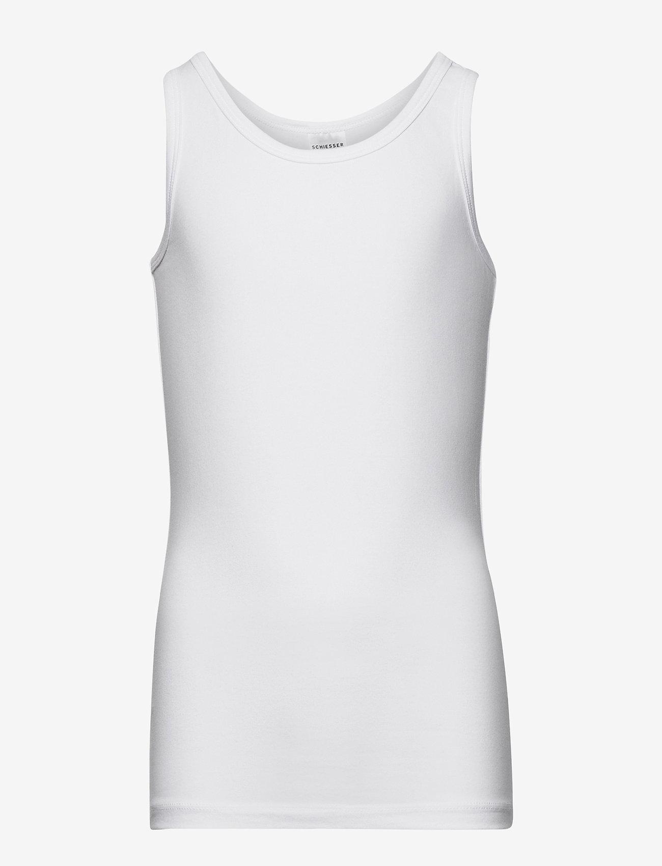 Schiesser - Shirt 0/0 - Ärmellose - white - 0