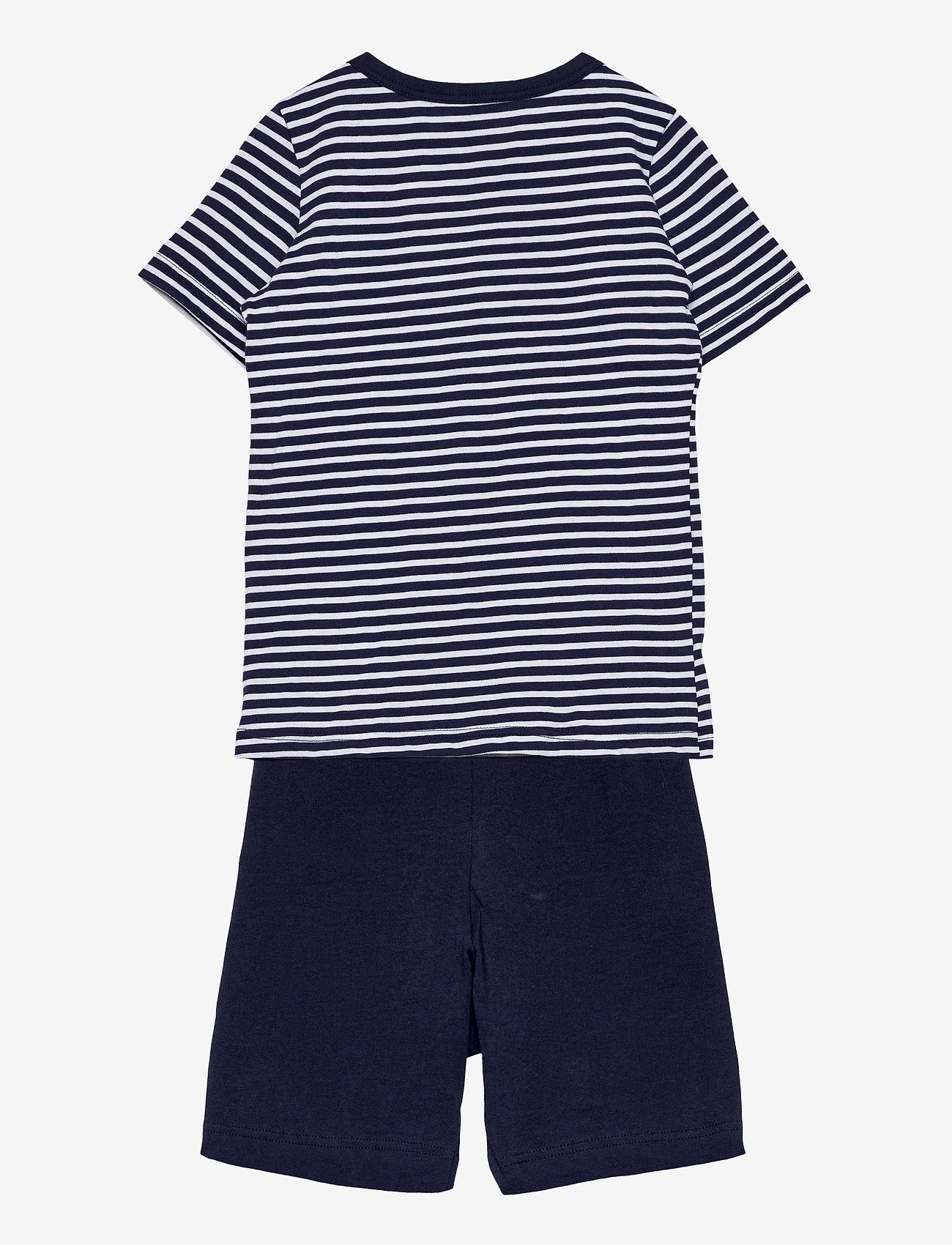 Schiesser - Boys Pyjama Short - sets - dark blue - 1
