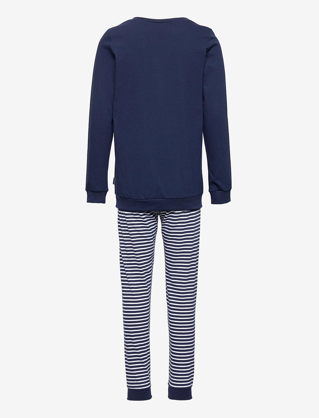 Schiesser - Boys Pyjama Long - sets - dark blue - 1