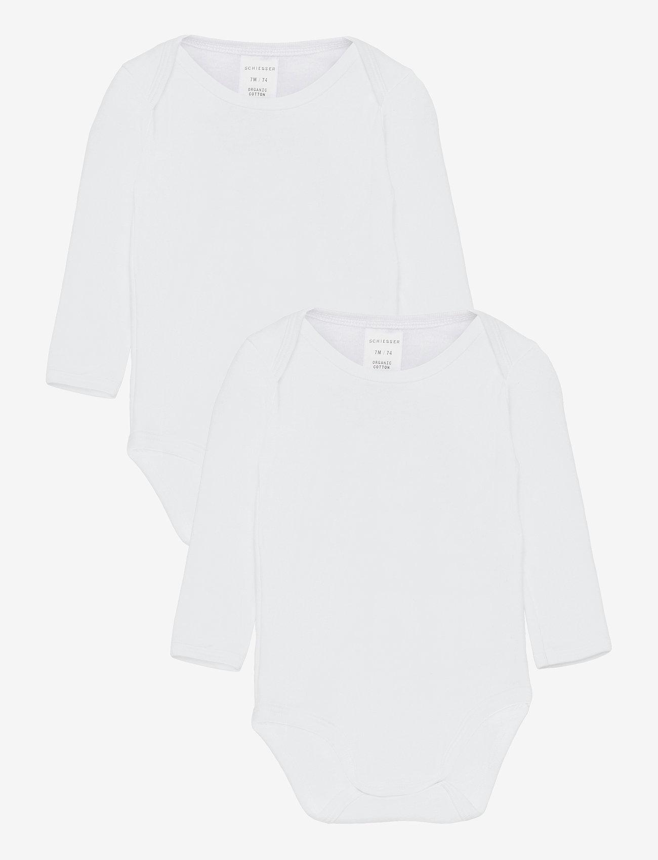 Schiesser - Body 1/1 - langärmelig - white - 0