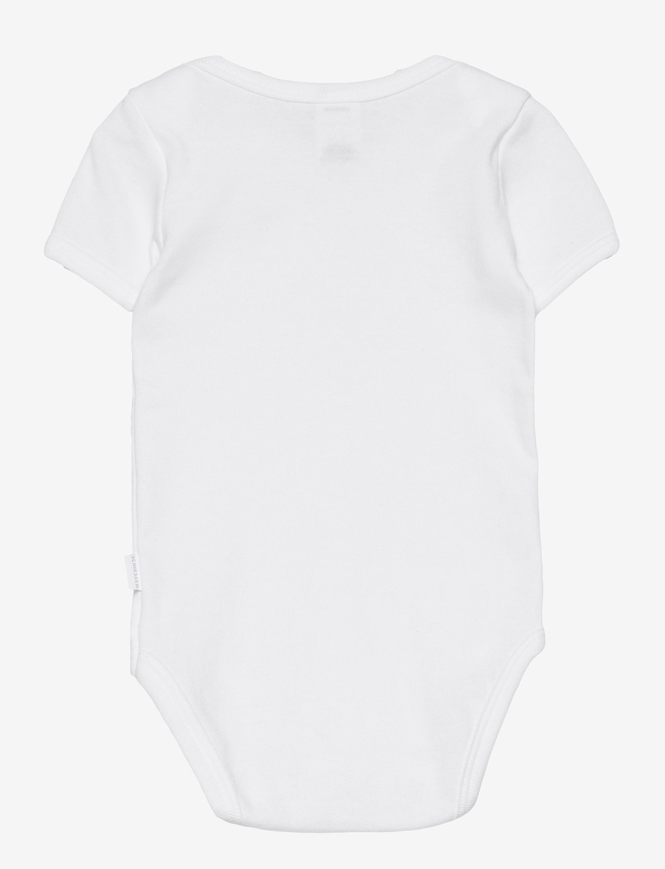 Schiesser - Baby Body 1/2 - kurzärmelige - white - 1