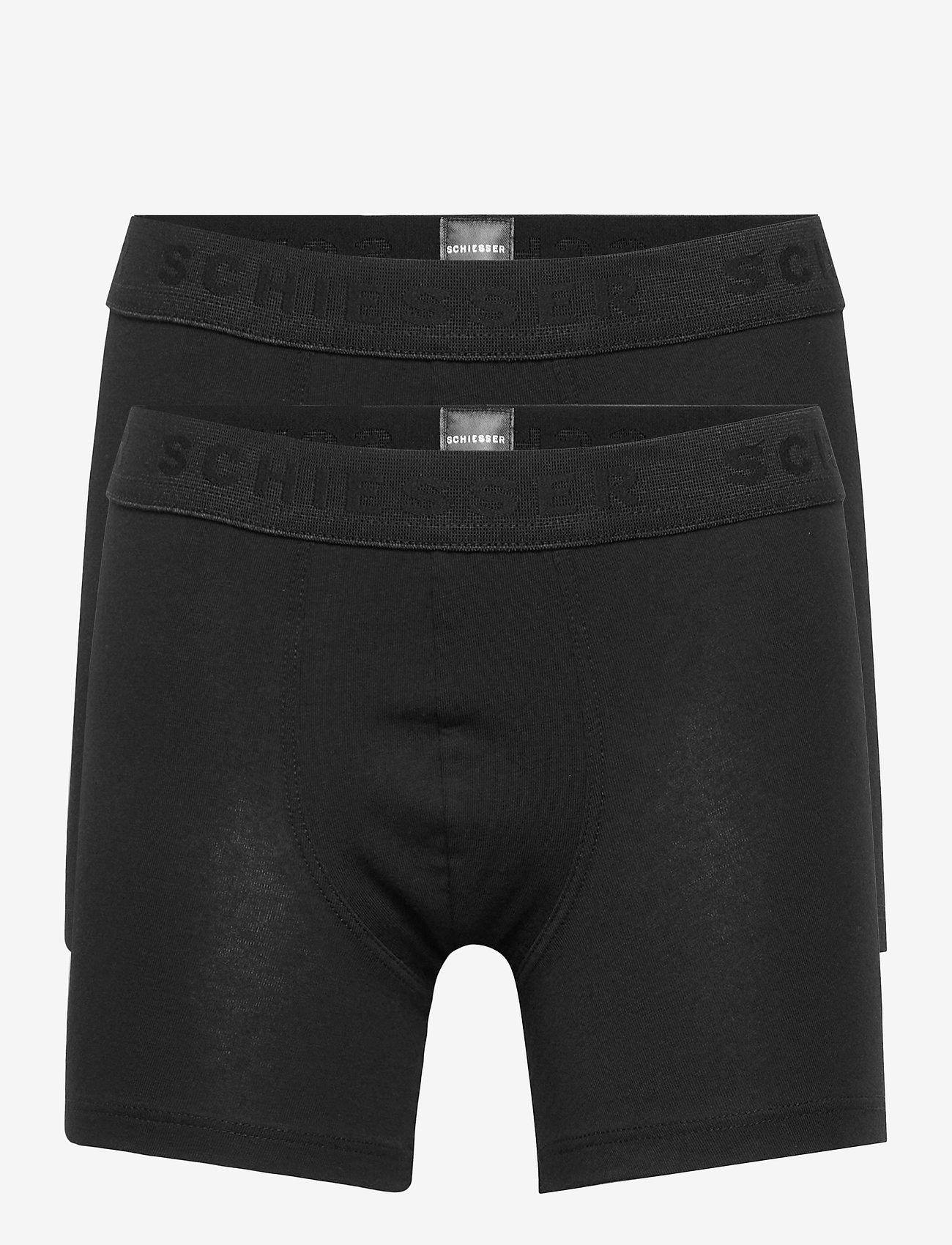 Schiesser - Shorts - shorts - black - 0