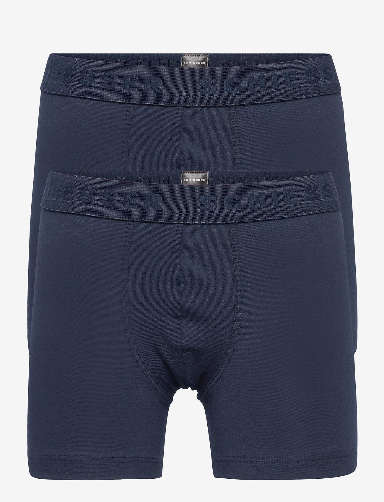 Schiesser - Shorts - shorts - nightblue - 0