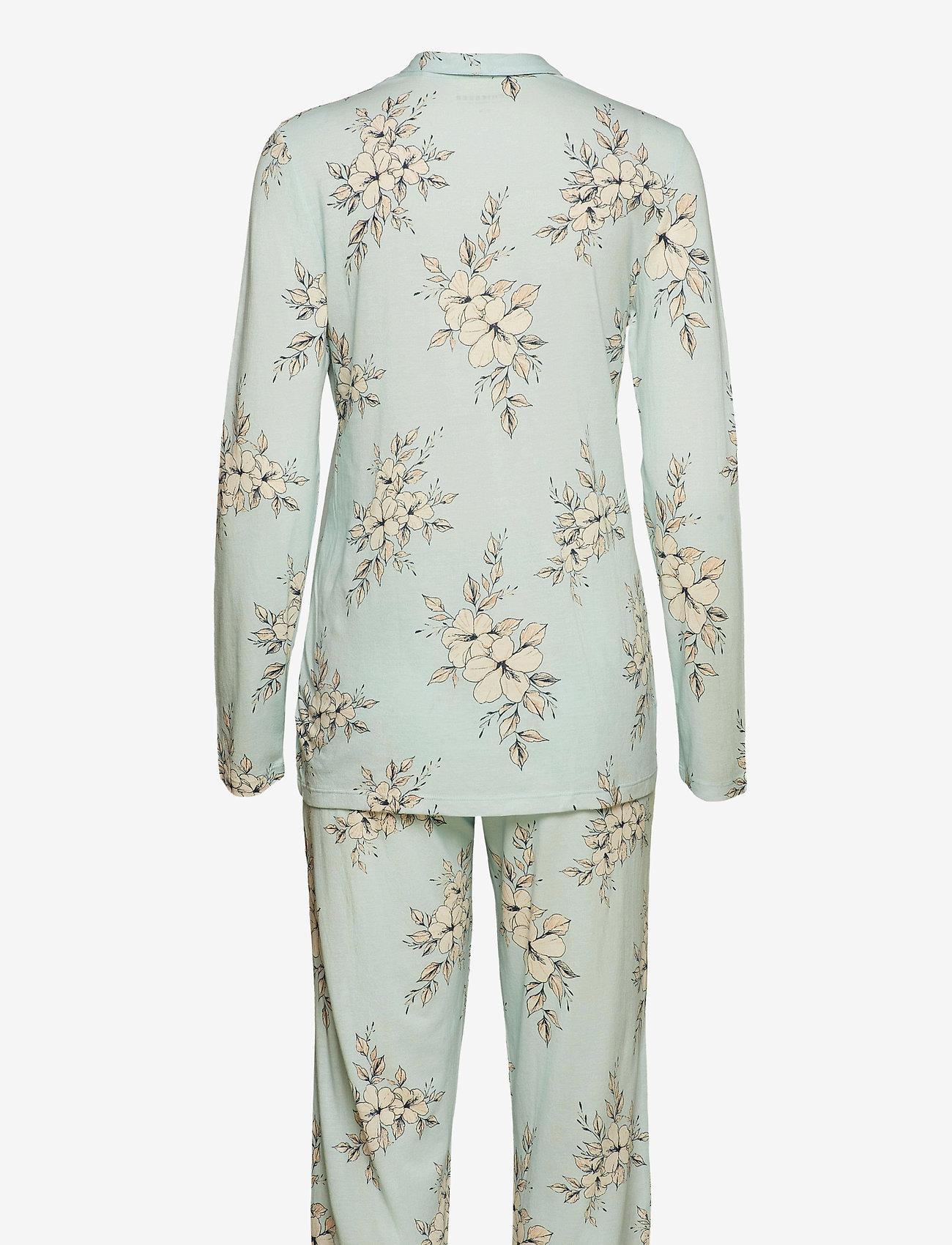 Schiesser - Pyjama Long - pyjama''s - mint green - 1