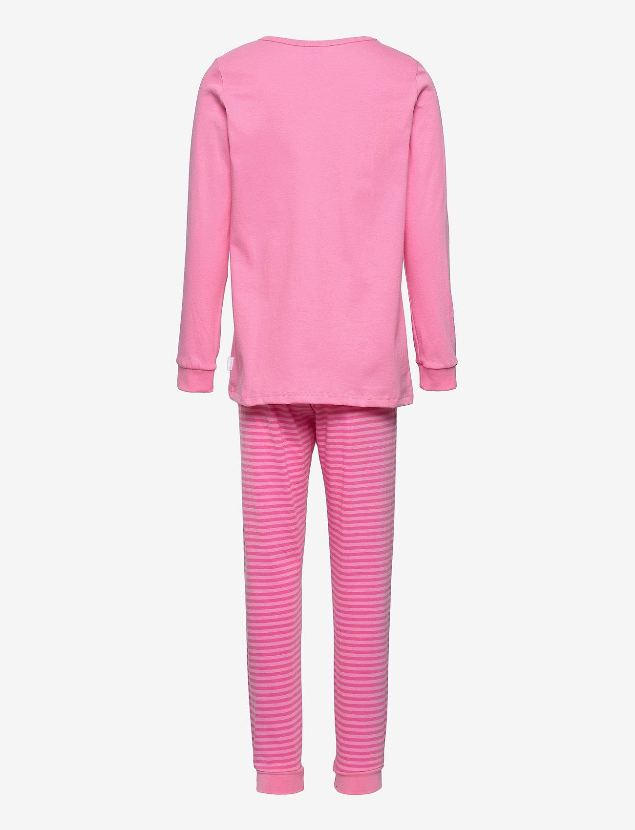 Schiesser - Girls Pyjama Long - sets - rose - 1
