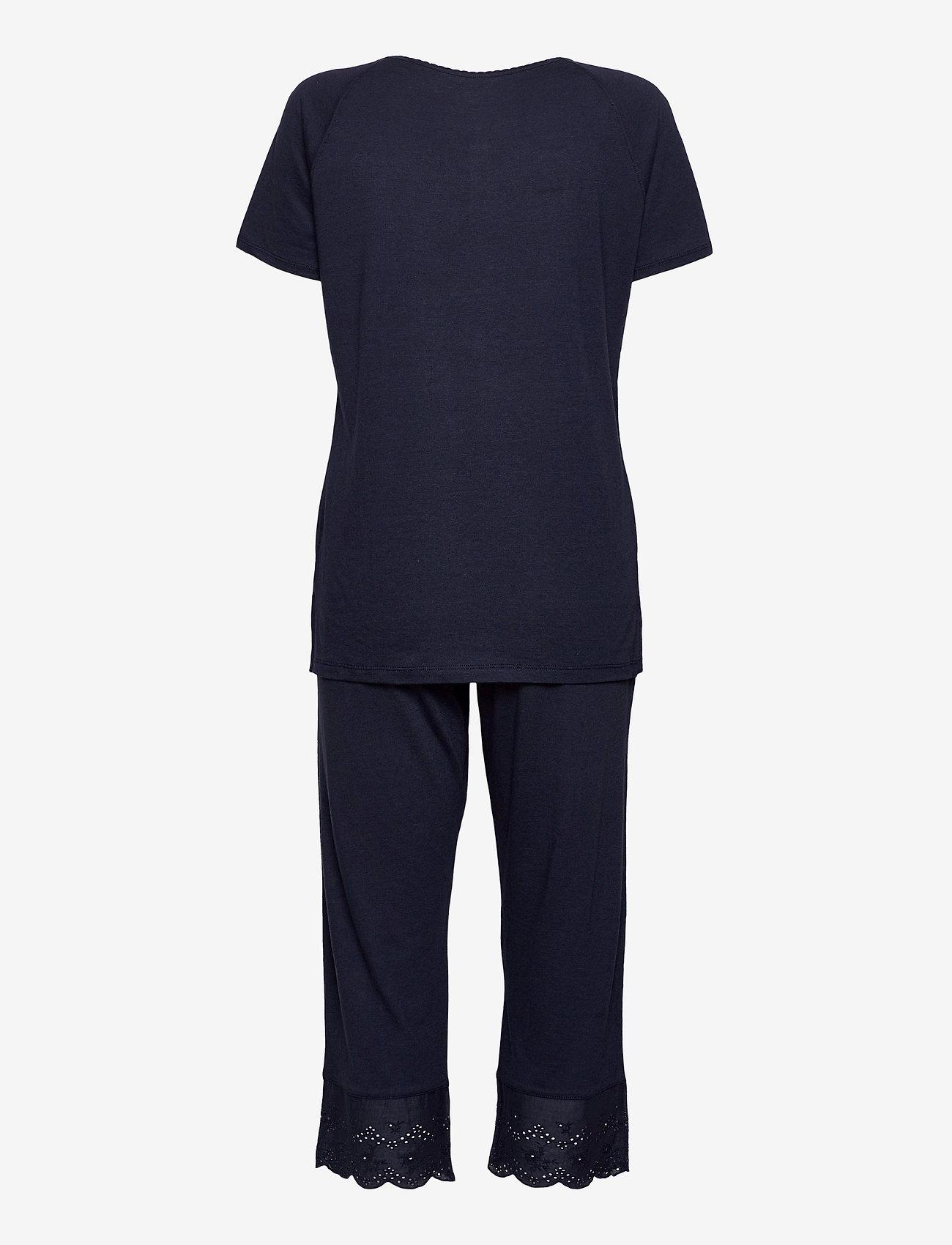 Schiesser - Pyjamas 3/4 - pyjama''s - nightblue - 1