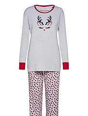 Pyjama Long - GREY MELANGE