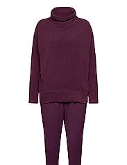 Pyjama Long - PLUM