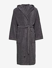 Schiesser - Bath Robe - badjassen - grey - 0