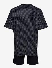 Schiesser - Pyjama Short - pyjamas - dark blue - 1