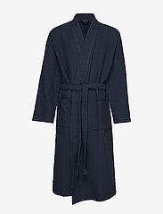 Schiesser - Bath Robe - badjassen - dark blue - 0