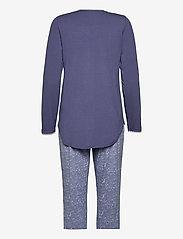 Schiesser - Pyjama Long - pyjama''s - blue - 1