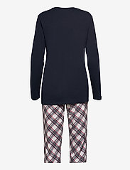 Schiesser - Pyjama Long - pyjama''s - dark blue - 1